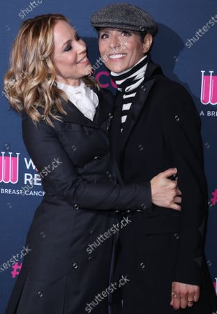 Maria Bello and Dominique Crenn