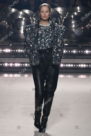 Editorial image of Isabel Marant show, Runway, Fall Winter 2020, Paris Fashion Week, France - 27 Feb 2020