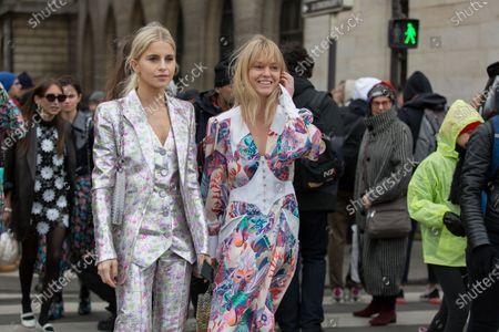 Caroline Daur and Jeanette Madsen