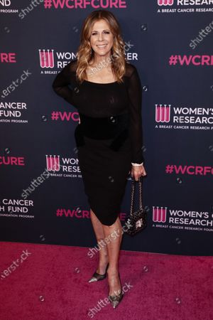 Rita Wilson attends the Women's Cancer Research Fund gala at the Beverly Wilshire Hotel in Beverly Hills, California, USA, 27 February 2020.