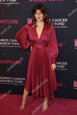 Destry Spielberg attends the Women's Cancer Research Fund gala at the Beverly Wilshire Hotel in Beverly Hills, California, USA, 27 February 2020.