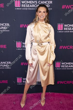 Stock Image of Elizabeth Chambers attends the Women's Cancer Research Fund gala at the Beverly Wilshire Hotel in Beverly Hills, California, USA, 27 February 2020.
