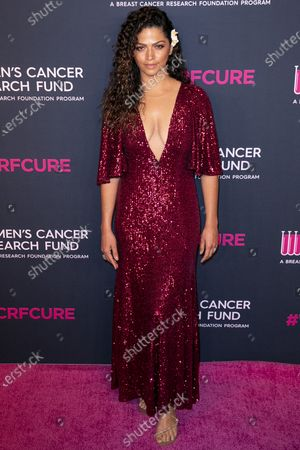 Camila Alves McConaughey attends the Women's Cancer Research Fund gala at the Beverly Wilshire Hotel in Beverly Hills, California, USA, 27 February 2020.