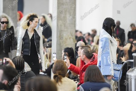 Editorial picture of Rick Owens show, Runway, Fall Winter 2020, Paris Fashion Week, France - 27 Feb 2020