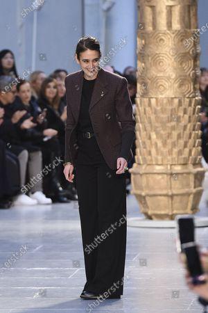 Editorial image of Chloe show, Runway, Fall Winter 2020, Paris Fashion Week, France - 27 Feb 2020