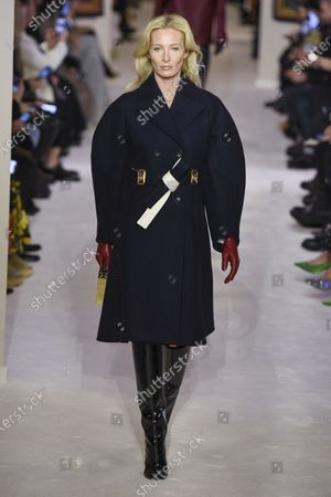Stock Photo of Maggie Rizer on the catwalk