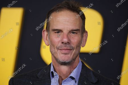 Peter Berg arrives at the premiere of the Netflix film Spenser Confidential, at the Regency Village Theater in Los Angeles, California, USA, 27 February 2020.