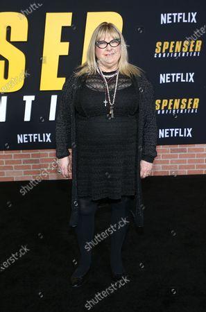 Editorial photo of 'Spenser Confidential' film premiere, Arrivals, Regency Village Theatre, Los Angeles, USA - 27 Feb 2020