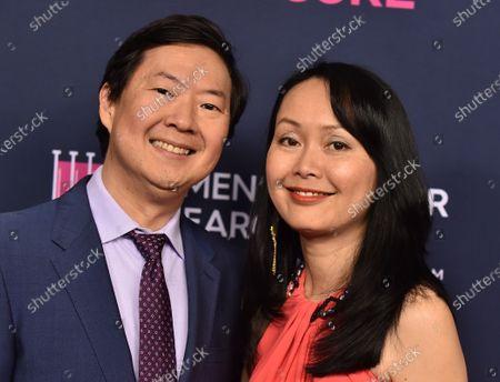Ken Jeong and Tran Jeong