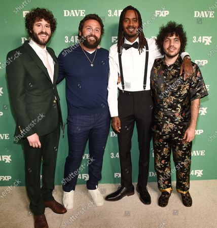 Lil Dicky, Mike Hertz, Gata and Benny Blanco