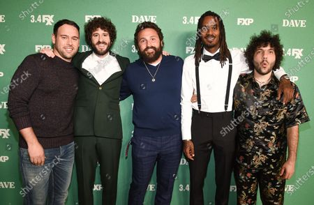 Scooter Braun, Lil Dicky, Mike Hertz, Gata and Benny Blanco