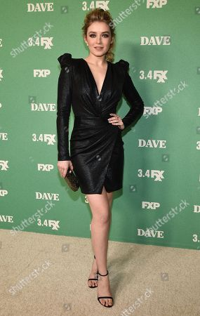 Editorial picture of 'Dave' TV Show premiere, Arrivals, Los Angeles, USA - 27 Feb 2020