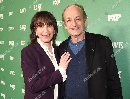Gina Hecht and David Paymer