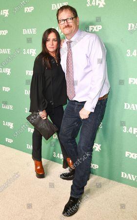 Pamela Adlon and John Pirruccello