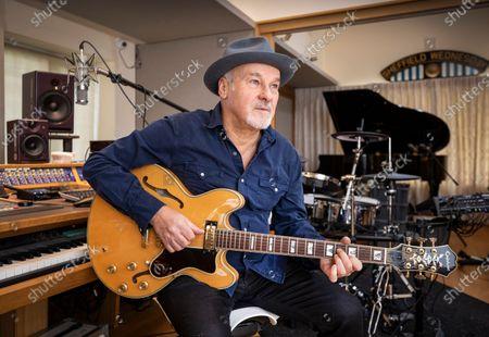 Paul Carrack in his home studio