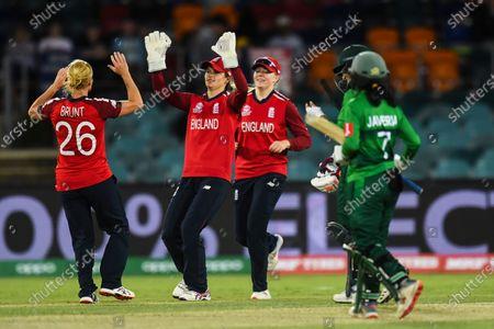 Editorial photo of England vs. Pakistan - Women's T20 World Cup cricket, Canberra, Australia - 28 Feb 2020