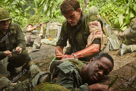 Cody Walker as Young Kepper, Jeremy Irvine as William Pitsenbarger and Ser'Darius Blain as Young Takoda