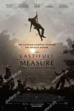 The Last Full Measure (2019) Poster Art. Jeremy Irvine as William Pitsenbarger