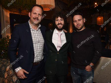 Nick Grad, Lil Dicky, Scooter Braun