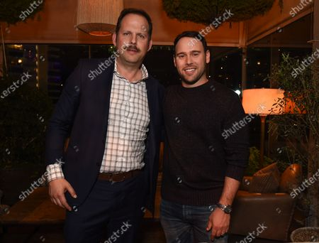 Stock Picture of Nick Grad, Scooter Braun