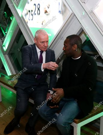 Stock Picture of Shaun Wright-Phillips Carabao Cup Preview event to  celebrate the 60th anniversary of the competition & begin the build-up to the Final on Sunday 1st March between Aston Villa & Manchester City.