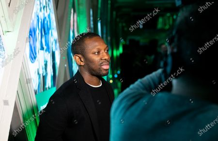 Stock Image of Shaun Wright-Phillips Carabao Cup Preview event to  celebrate the 60th anniversary of the competition & begin the build-up to the Final on Sunday 1st March between Aston Villa & Manchester City.