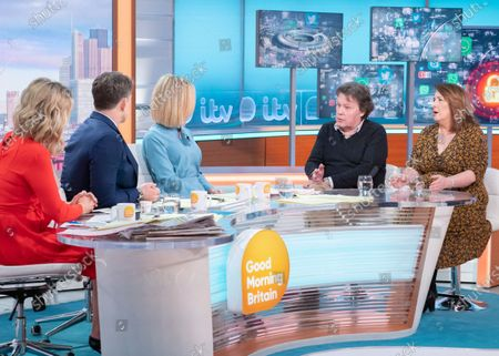 Stock Photo of Charlotte Hawkins, Ben Shephard, Kate Garraway, Nigel West and Christine Jardine
