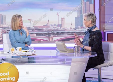 Kate Garraway with Patricia Kelly