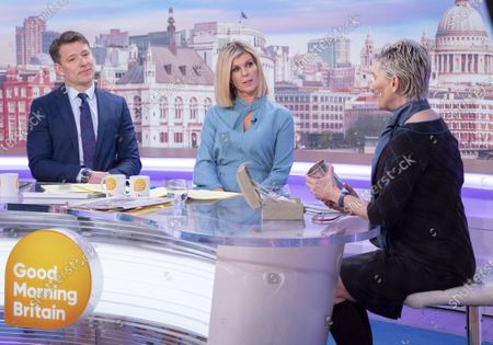 Ben Shephard and Kate Garraway with Patricia Kelly