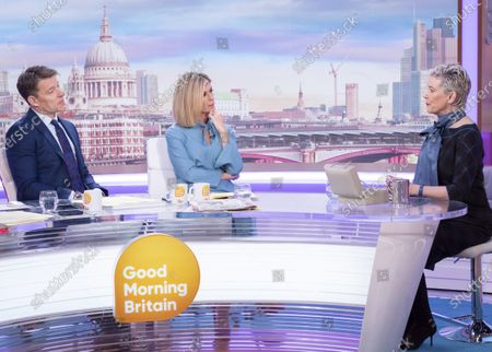 Stock Photo of Ben Shephard and Kate Garraway with Patricia Kelly