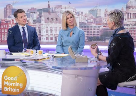 Editorial picture of 'Good Morning Britain' TV show, London, UK - 28 Feb 2020