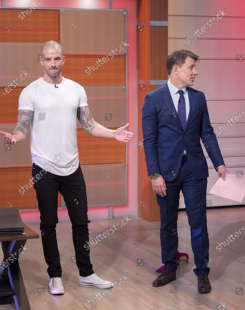 Ben Shephard and Darcy Oake