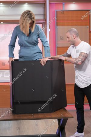 Kate Garraway with Darcy Oake
