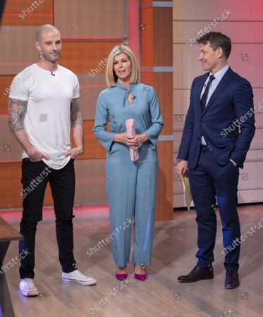Stock Picture of Ben Shephard and Kate Garraway with Darcy Oake