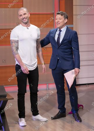 Stock Photo of Ben Shephard and Darcy Oake