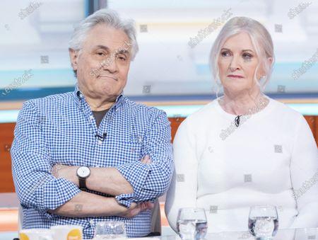 John Suchet with wife Nula Suchet