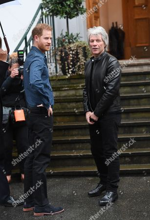Editorial image of Prince Harry visit to Abbey Road Studios, London, UK - 28 Feb 2020