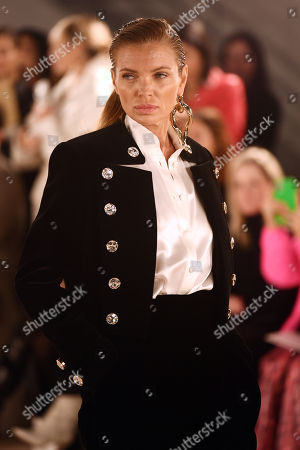 Stock Picture of Esther Canadas on the catwalk