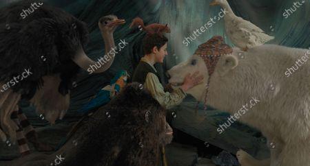 Ostrich Plimpton (Kumail Nanjiani), Parrot Polynesia (Emma Thompson), Gorilla Chee-Chee (Rami Malek), Harry Collett as Tommy Stubbins, Squirrel Kevin (Craig Robinson), Polar Bear Yoshi (John Cena) and Duck Dab-Dab (Octavia Spencer)
