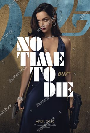 No Time to Die (2020) Poster Art. Ana de Armas as Paloma