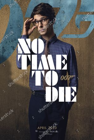 No Time to Die (2020) Poster Art. Ben Whishaw as Q