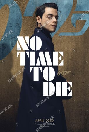 Editorial photo of 'No Time To Die' Film - 2020