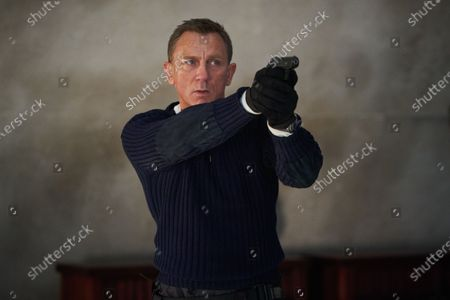 Stock Photo of Daniel Craig as James Bond