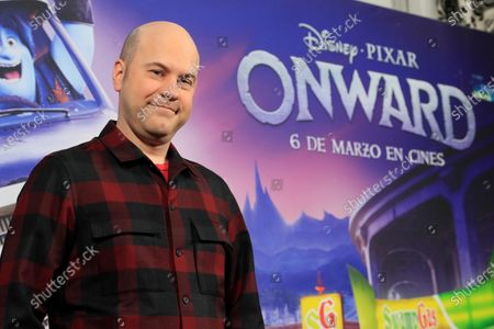 Dan Scanlon poses for the photographers at the premiere of the new Disney Pixar animated movie 'Onward' in Madrid, Spain, 28 February 2020. The animation film, that features the first LGTB character in a Disney animated movie, will be release in Spanish cinemas on 06 March 2020.