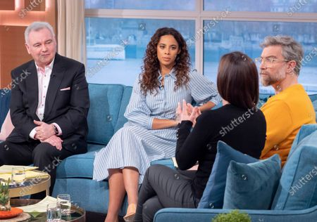 Stock Photo of Eamonn Holmes, Rochelle Humes, Jamie East and Claire Nasir
