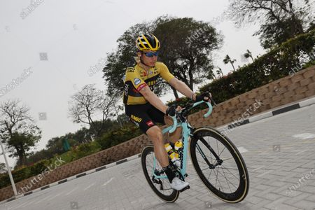 German Tony Martin of Team Jumbo-Visma pictured at stage 4 of the 'UAE Tour' 2020 cycling race from Zabeel Park to Dubai (173km), United Arab Emirates, Wednesday 26 February 2020. This year's edition is taking place from 23 February to 29 February.