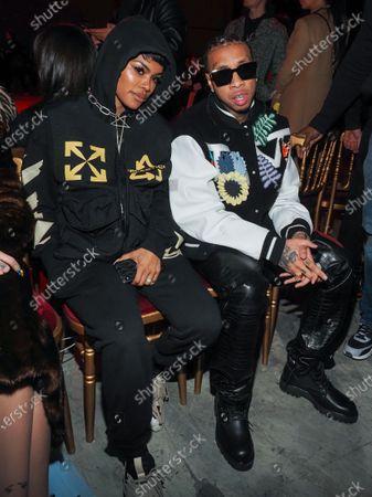 Teyana Taylor and Tyga
