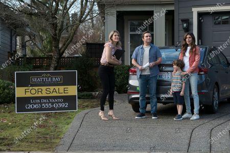 Alison Wandzura as Whitney McKellan, Geoff Gustafson as Scott, Azriel Dalman as Miles Morgan and Jamie-Lynn Sigler as Karen Morgan