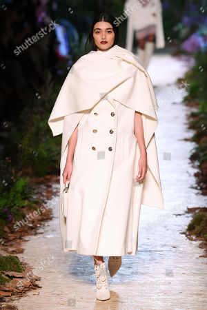 Neelam Gill on the catwalk
