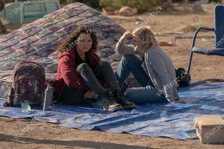 Stefania LaVie Owen as Rebecca Iguero and Melinda Page Hamilton as Anna Iguero